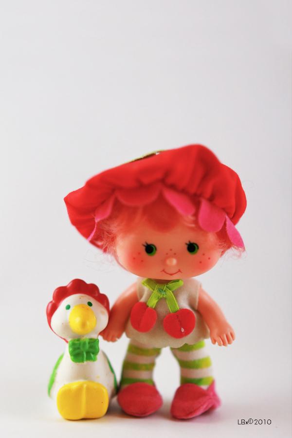 [KENNER] Strawberry Shortcake SSC_CherryCuddler_GooseberryGoose