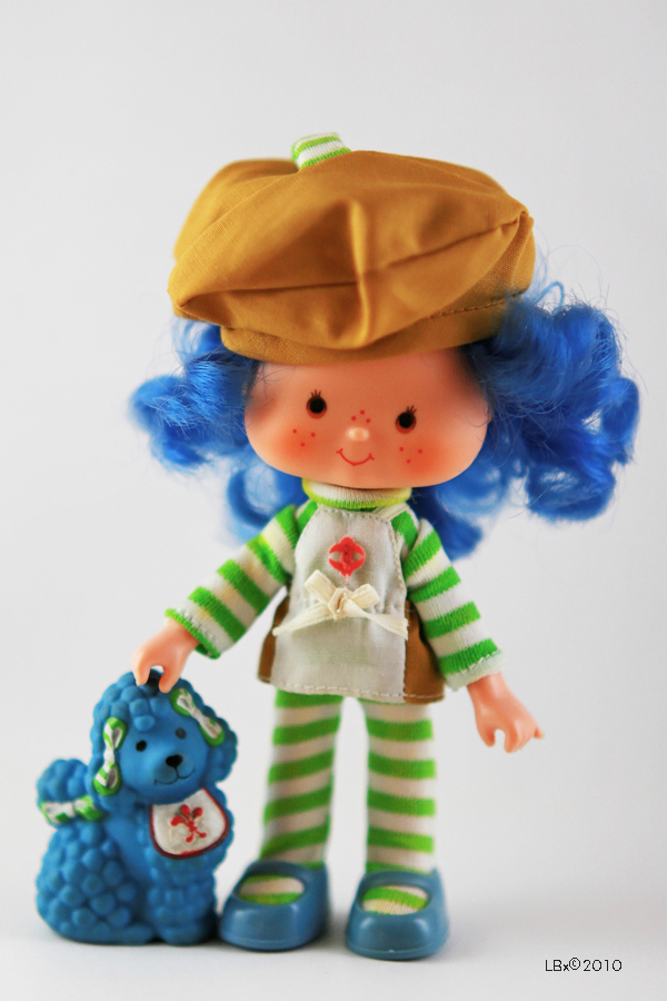 [KENNER] Strawberry Shortcake SSC_CrepeSuzette_EclairPoodle
