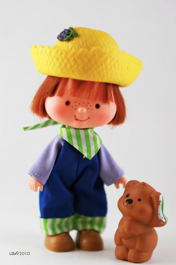 [KENNER] Strawberry Shortcake SSC_HuckleberryPie_PupcakeDog